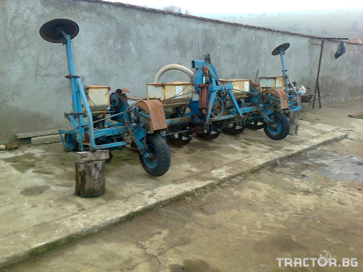 Сеялки Сеялка с торовнасяне 1 - Трактор БГ