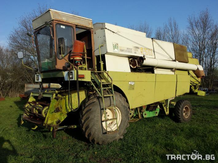 Комбайни Fortschritt E 517 0 - Трактор БГ
