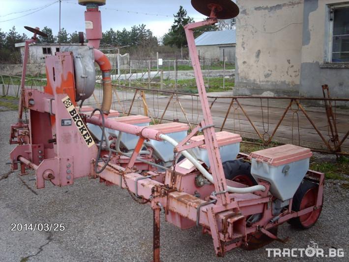 Сеялки Сеялка БЕКЕР 16 - Трактор БГ