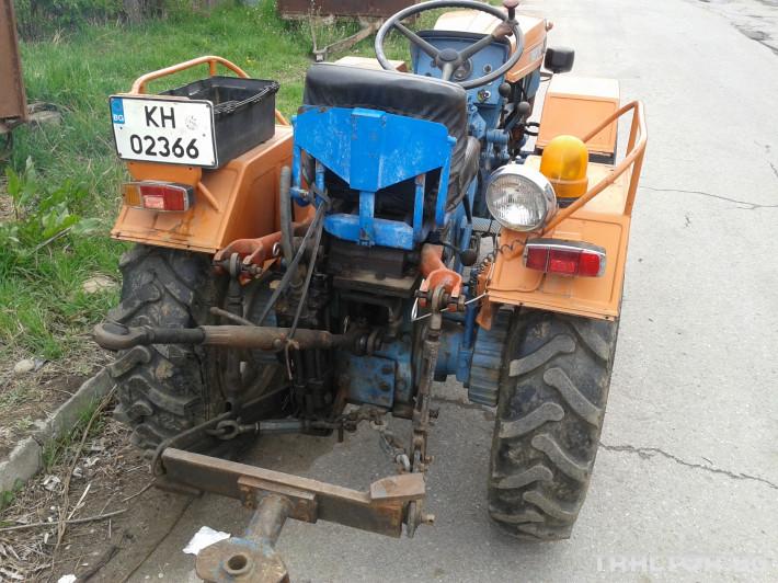 Трактори Antonio Carraro Tigrone 740 1 - Трактор БГ