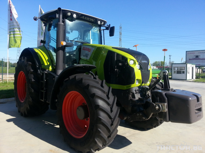 Трактори Claas Axion 850 8