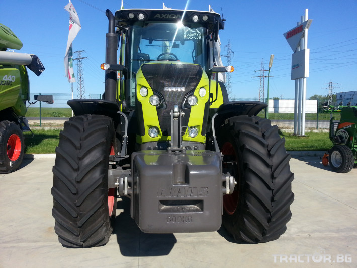 Трактори Claas Axion 850 0