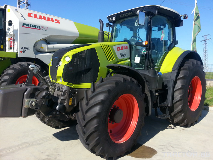 Трактори Claas Axion 850 1
