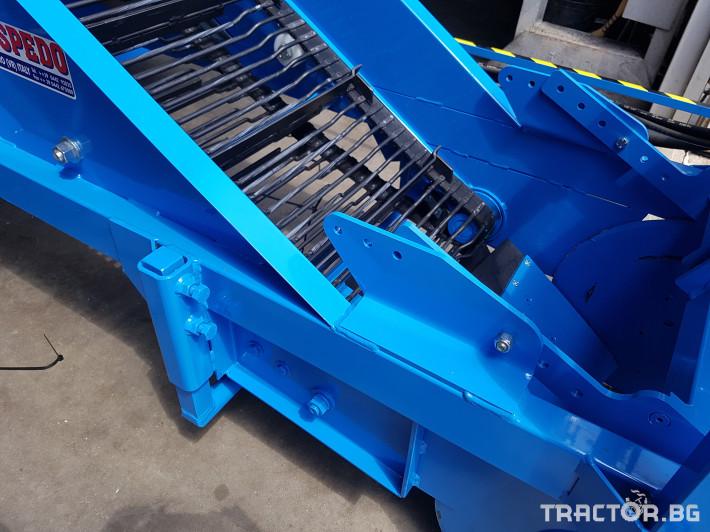 Машини за зеленчуци Машина за събиране на картофи/лук  SPEDO 9 - Трактор БГ