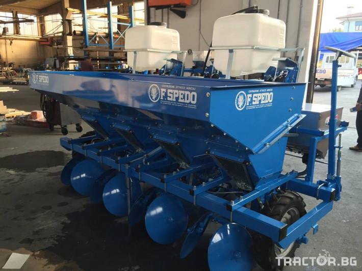 Машини за зеленчуци Сеялка за картофи F.LLI.Spedo 20 - Трактор БГ