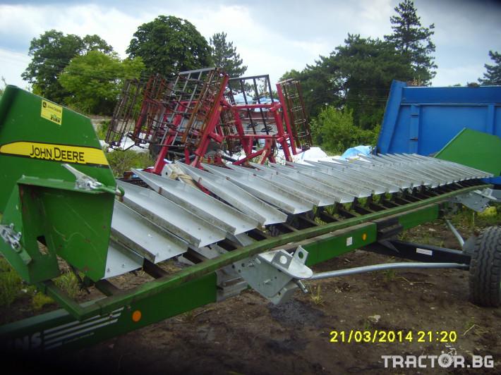 Хедери за жътва Лифтери за слънчоглед John Deere 0 - Трактор БГ