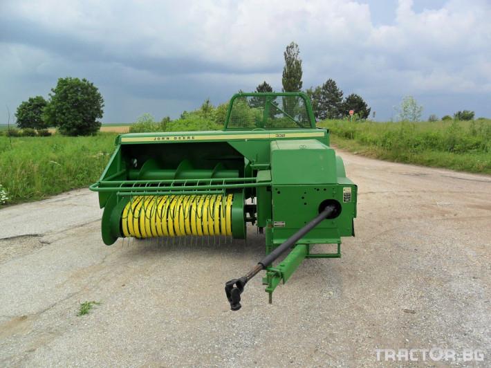 Сламопреси Сламопреса John Deere 332 0 - Трактор БГ