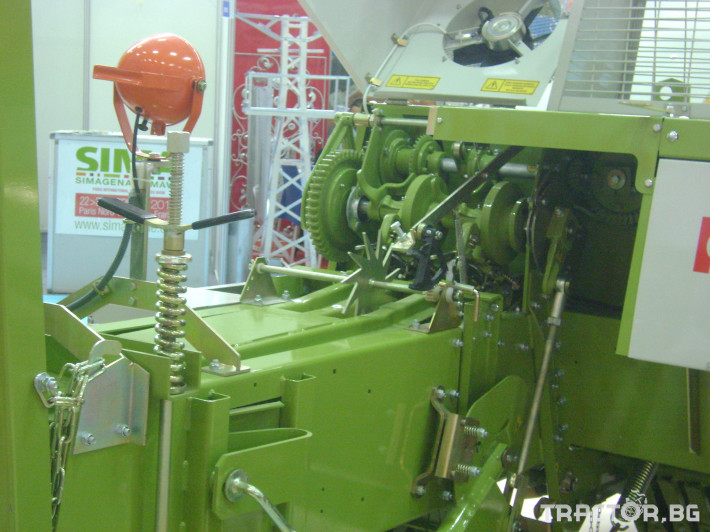 Сламопреси Балопреса Keyhan Ertugrul Makina КЕ555 3 - Трактор БГ