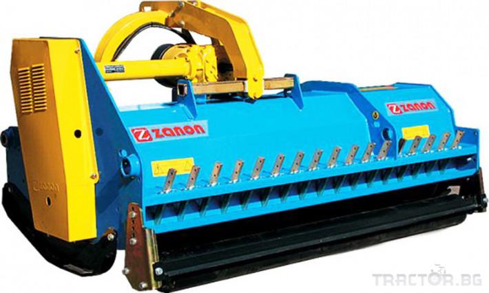 Машини за лозя / овошки Раздробител на клони след резитба на лозя и овощни градини ZANON модел TMS 1 - Трактор БГ