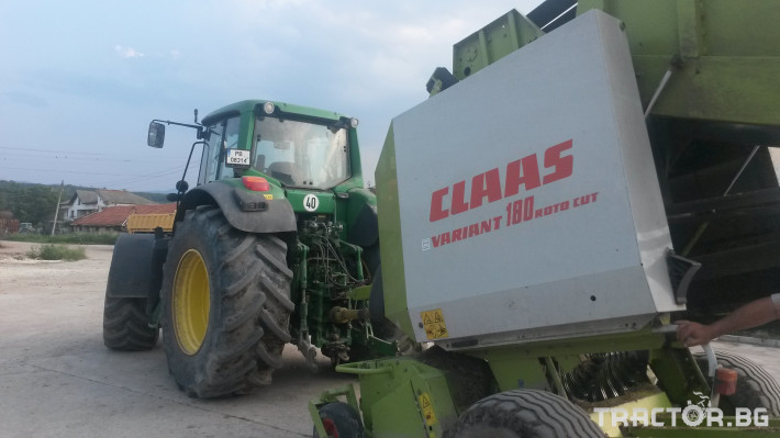 Сламопреси Сламопреса Claas RC 180 2 - Трактор БГ