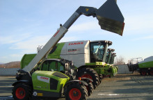 Телескопичен товарач Claas Scorpion 7035