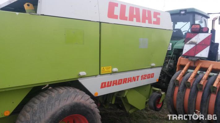 Сламопреси Сламопреса Claas Quadrant 1200 4 - Трактор БГ