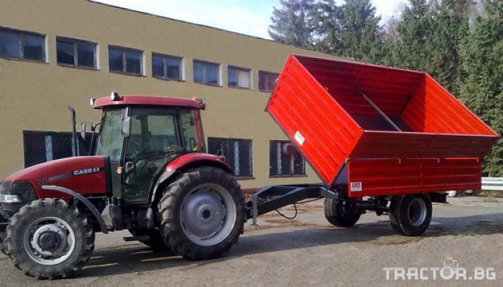 Ремаркета и цистерни Ремарке самосвално едноосно БМД АЛФА-C-11.4 0 - Трактор БГ