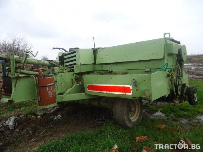 Сламопреси Сламопреса Fortshritt 454 2 - Трактор БГ
