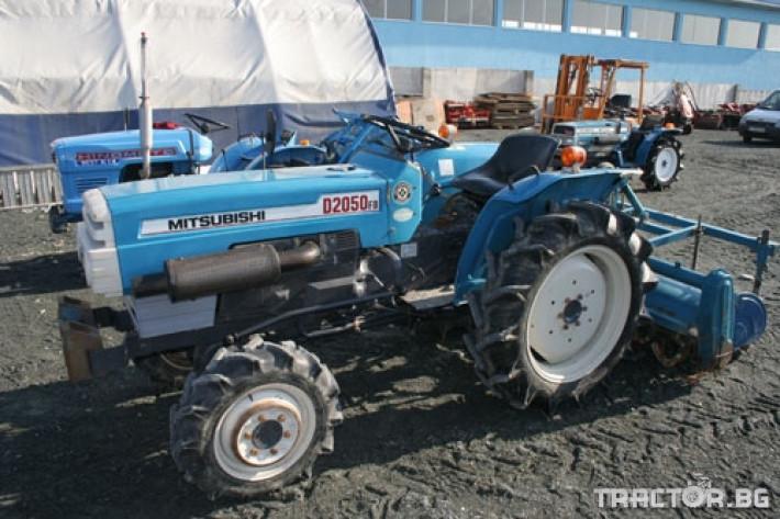 Трактори Mitsubishi D 2050 FD 2 - Трактор БГ