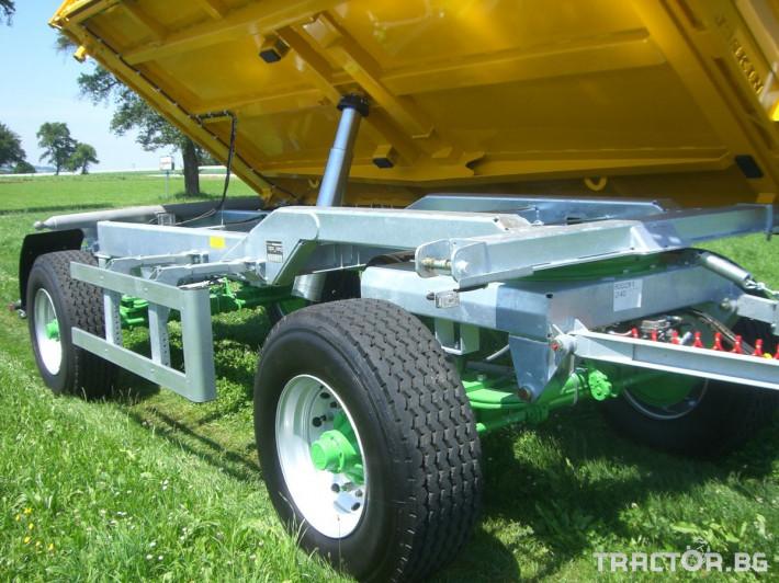 Ремаркета и цистерни Селскостопанско ремарке Joskin Tetra-Cap 7