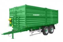 Двуосно ремарке с тристранно разтоварване FARMIX FТ14