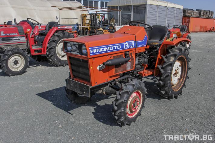 Трактори Hinomoto E 184 1 - Трактор БГ