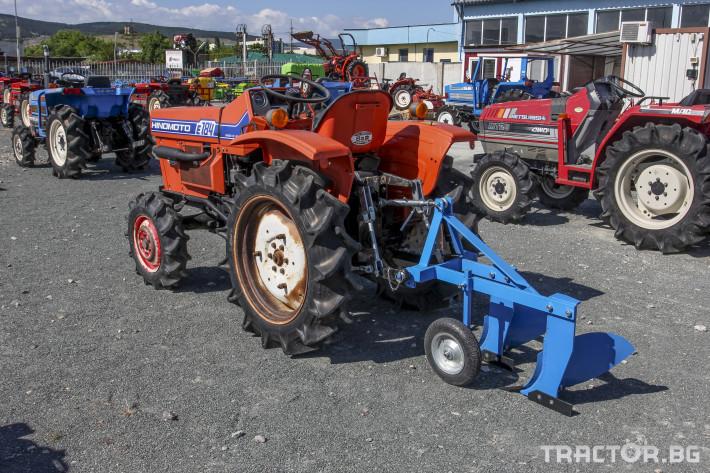 Трактори Hinomoto E 184 0 - Трактор БГ