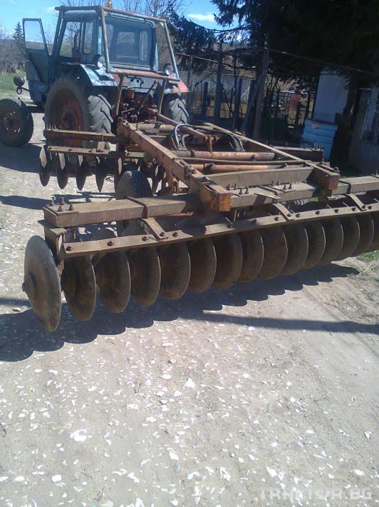 Брани Дискова брана Amazone 3.20 0 - Трактор БГ