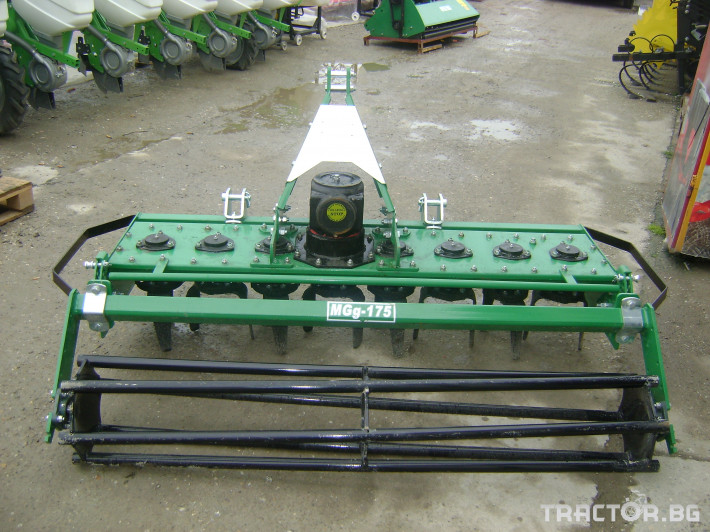 Машини за лозя / овошки Роторна брана GEO MG 210 см. 5 - Трактор БГ