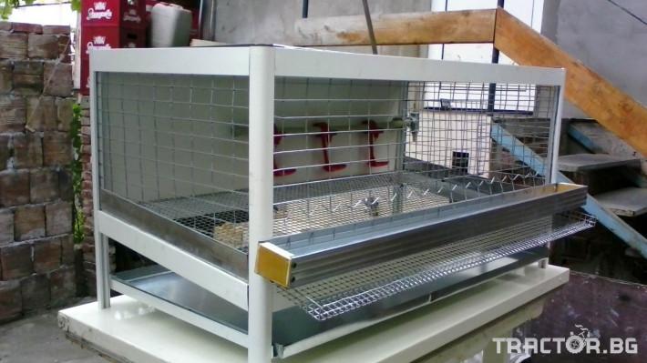 Машини за ферми Продавам алуминиеви клетки за пъдпъдъци и кокошки носач 5 - Трактор БГ