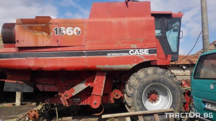 Комбайни Case IH 1660 0 - Трактор БГ