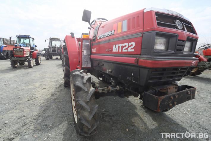 Трактори Mitsubishi MT 22 1 - Трактор БГ