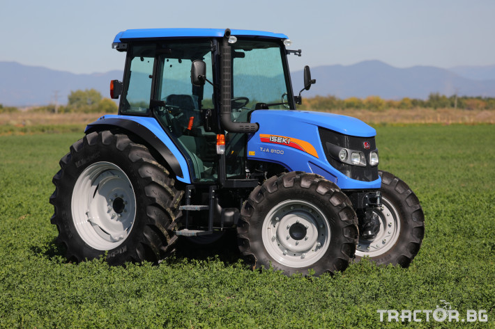 Трактори Iseki TJA 8100 11