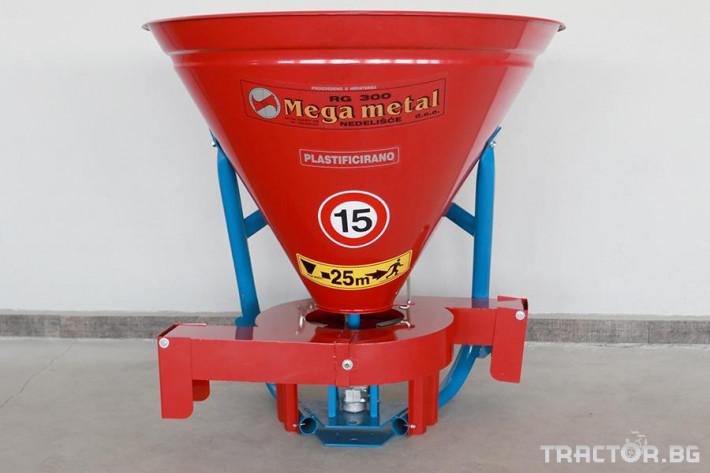 Торачки Тороразпръсквач навесен Мега Метал 4 - Трактор БГ