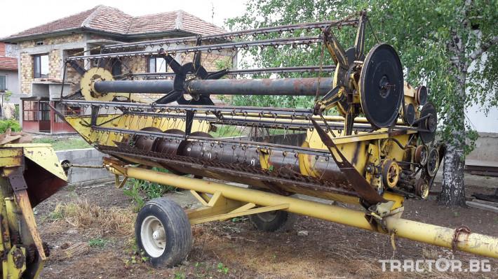 Комбайни New Holland 1550 8 - Трактор БГ