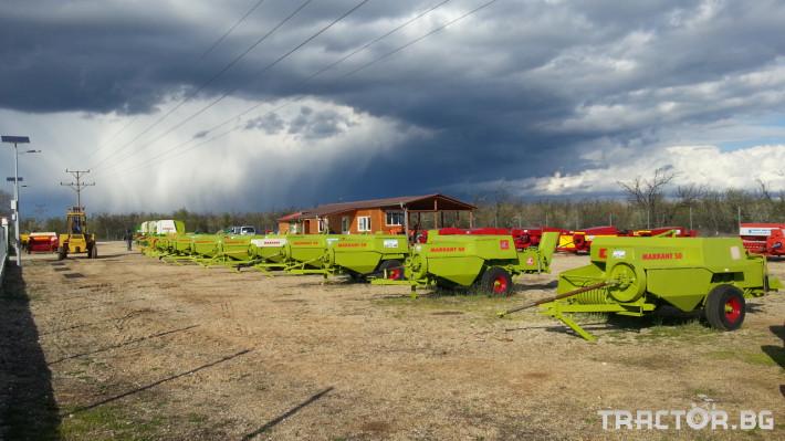 Сламопреси Claas Markant 50, 51, 40, 41, 60 5 - Трактор БГ