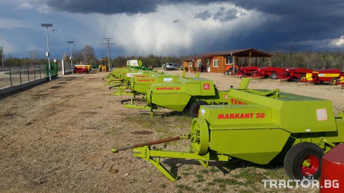 Сламопреси Claas Markant 50, 51, 40, 41, 60 6 - Трактор БГ