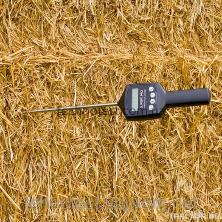 Прецизно земеделие ПРОМО ЦЕНА Влагомер за слама, силаж и сено Superpro Combi 3 - Трактор БГ