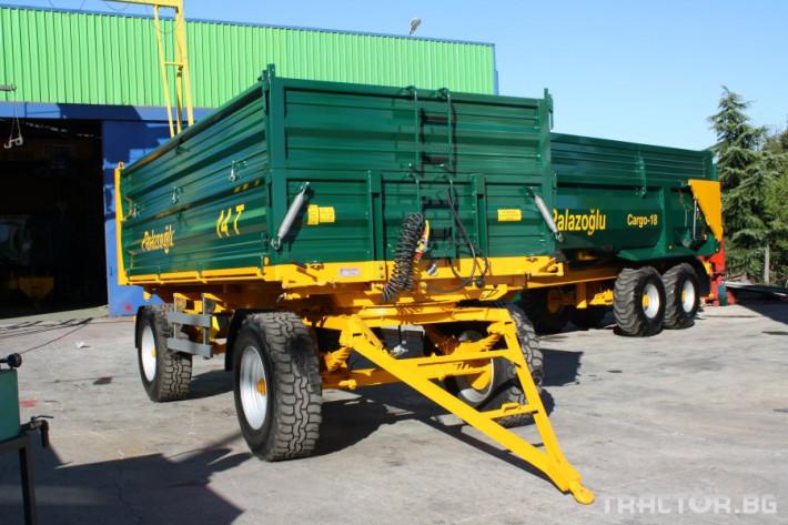Ремаркета и цистерни Ремарке PALAZOGLU - 10 тона, 11 - Трактор БГ