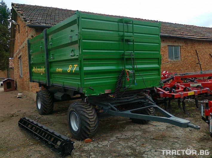 Ремаркета и цистерни Ремарке PALAZOGLU - 10 тона, 13 - Трактор БГ
