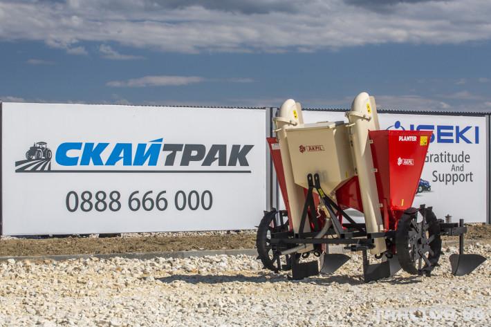Машини за зеленчуци Картофосадач Akpil 9 - Трактор БГ