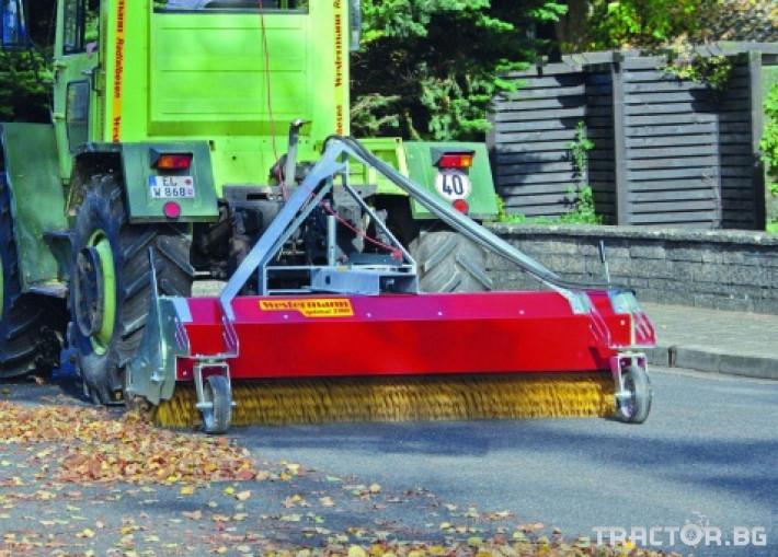 Техника за почистване Четка за почистване на плац и складови помещения WESTERMANN OPTIMAL 2300 НАЛИЧНА 5 - Трактор БГ