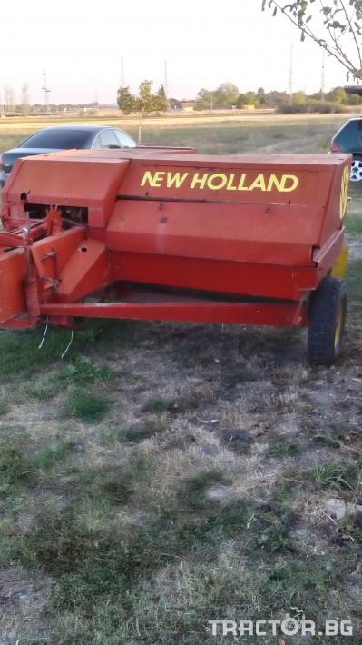 Сламопреси Сламопреса New Holland 1300 3 - Трактор БГ