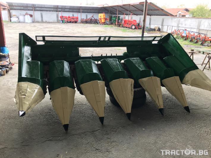 Хедери за жътва Унгарски адаптор за царевица 1 - Трактор БГ