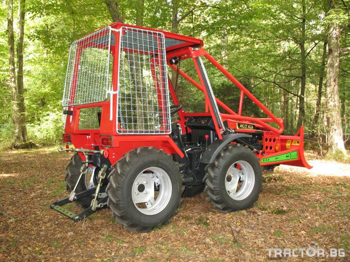 Трактори Agromehanika AGT 835  Горска специализирана версия трактори 3 - Трактор БГ