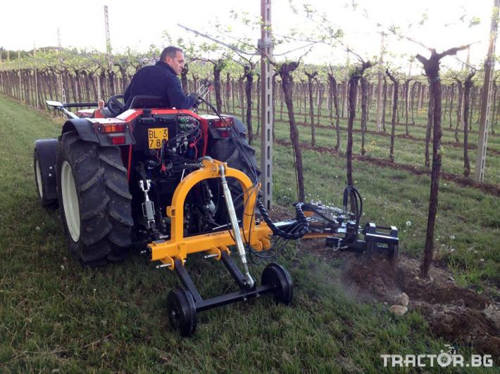 Машини за лозя / овошки Автоматично отклоняваща секция ORIZZONTI модел MIRA 1 - Трактор БГ