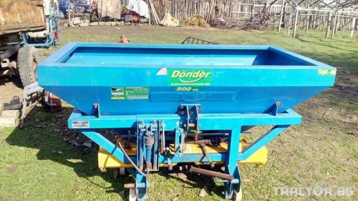 Торачки Donder 0 - Трактор БГ