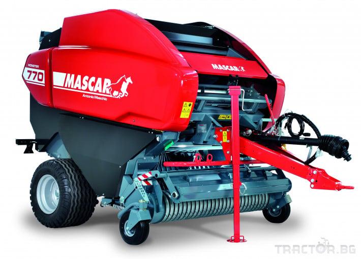 Сламопреси Балопреса за рулонни бали Mascar Monster Cut 770 2