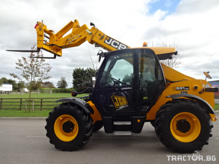 Телескопични товарачи JCB 531-70 AGRI PLUS 19