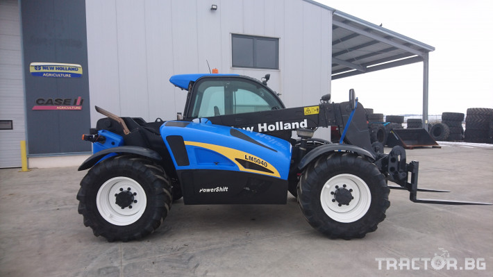 Телескопични товарачи New Holland LM 5040 1