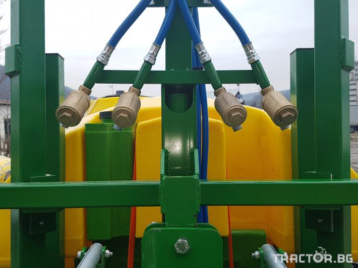 Пръскачки Меркурий Агро Прикачна  пръскачка 2000л 16м. повдигащ лифт 19 - Трактор БГ