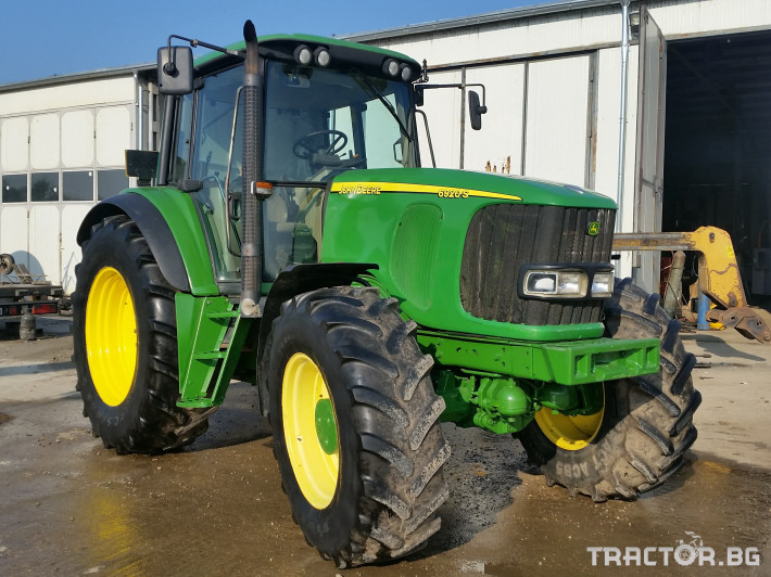 Трактори John Deere 6920 S 8 - Трактор БГ