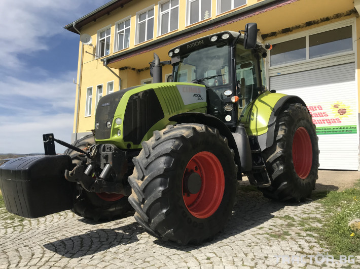 Трактори Claas AXION 850 CEBIS ЛИЗИНГ 2