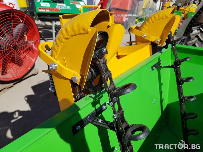 Машини за зеленчуци KАРТОФОСАДАЧ ЕДНОРЕДОВ И ДВУРЕДОВ, МАРКА BOMET 2 - Трактор БГ
